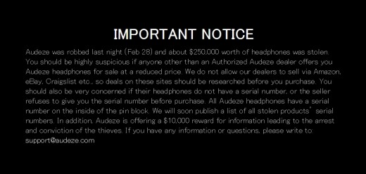audeze-important-notice